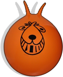 Space Hopper or for Americans Hippity hop