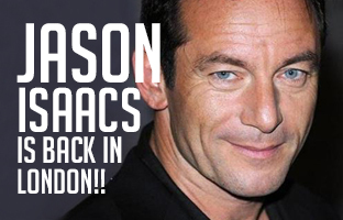 Jason Isaacs in London