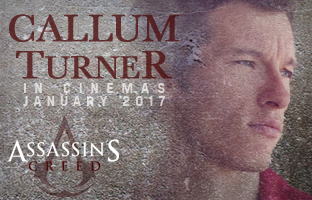 Callum Turner in Assasins Creed