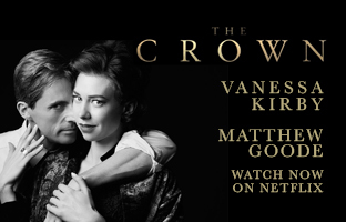 Vanessa and Matthew in The Crown