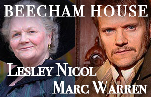 Lesley Nicol and Marc Warren in Beecham House