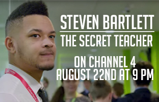 Steven Bartlett in The Secret Teacher