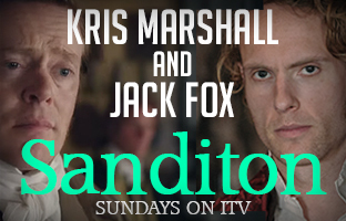 Kris Marshall and Jack Fox
