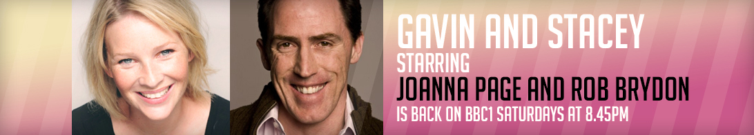 Joanna Page and Rob Brydon in Gavin and Stacey