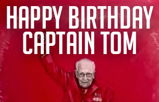 Happy Birthday Captain Tom