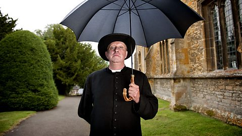 Mark Williams stars in Father Brown