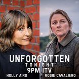 Holly Aird and Rosie Cavaliero in Unforgotten