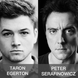 Taron Egerton and Peter Serafinowicz in SING