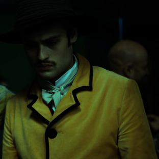 Douglas Booth in Loving Vincent