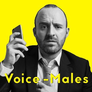 Tom Andrews with brand new podcast Voice-Males