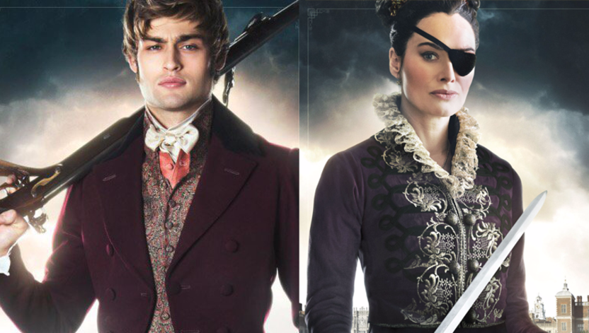 Lena and Douglas in Pride and Prejudice and Zombies