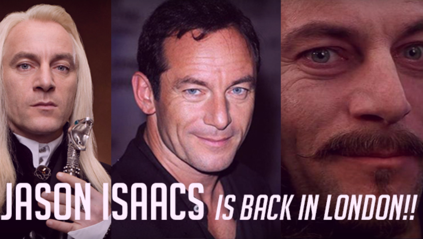 Jason Isaacs is Back in London