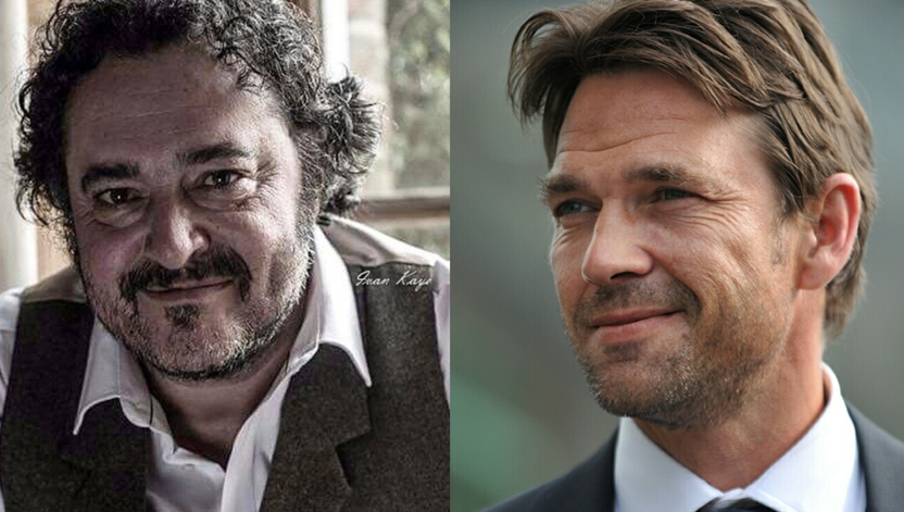 Dougray Scott and Ivan Kaye in The Woman in White