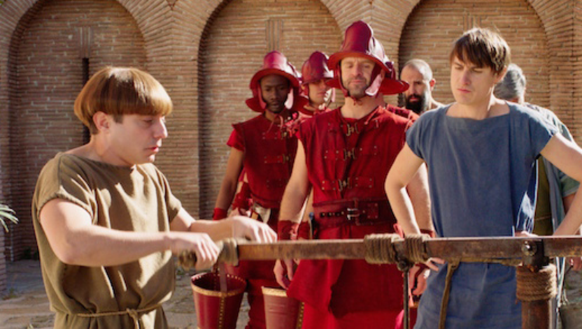 Tom Andrews Stars in Plebs