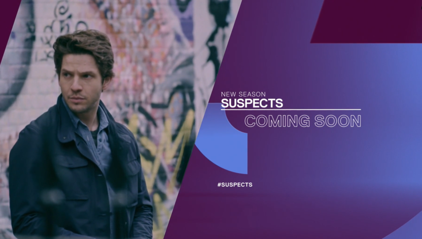 Damien Molony in new series of Suspects