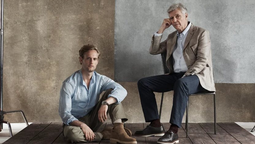 James Fox and Jack Fox in Mr Porter Live photoshoot and interview