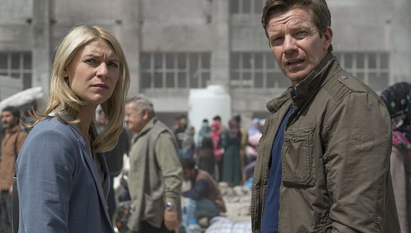 Max Beesley Stars in Homeland