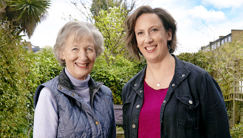 Miranda Hart gets green fingers!