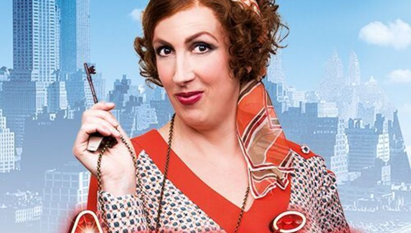 Miranda Hart is Miss Hannigan in Annie