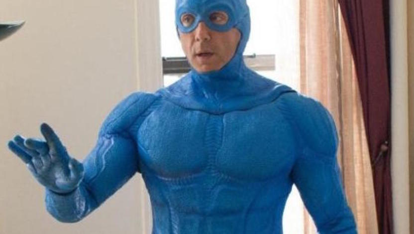 Peter Serafinowicz in brand new series The Tick