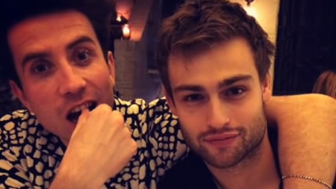 Douglas Booth pops into Radio 1 for a heartwarming chat with Grimmy