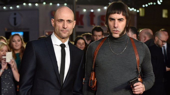 Mark Strong Stars in The Brothers Grimsby
