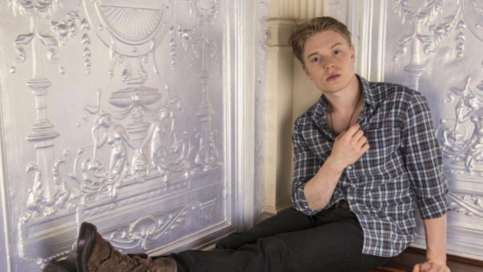 Freddie Fox plays Romeo at the Branagh Theatre