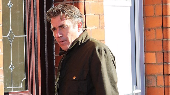 Ian Kelsey films last few scenes of Corrie