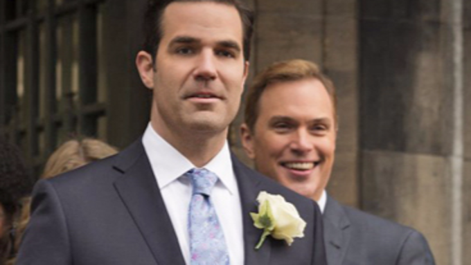 Rob Delaney and Daniel Lapaine in Catastrophe!