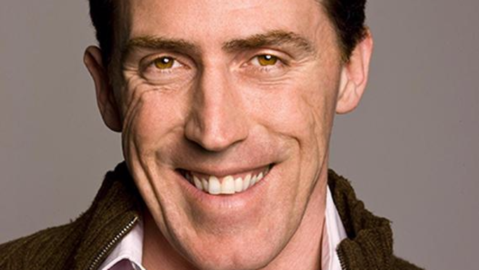 Rob Brydon... stands up!