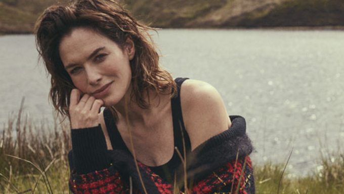 Lena Headey in PORTERs cover story