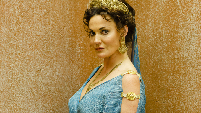 Sarah Parish in BBC Drama - Atlantis