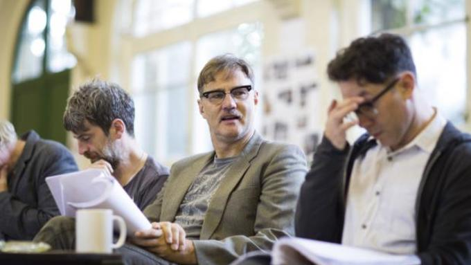 David Morrissey stars in Hangmen at The Royal Court