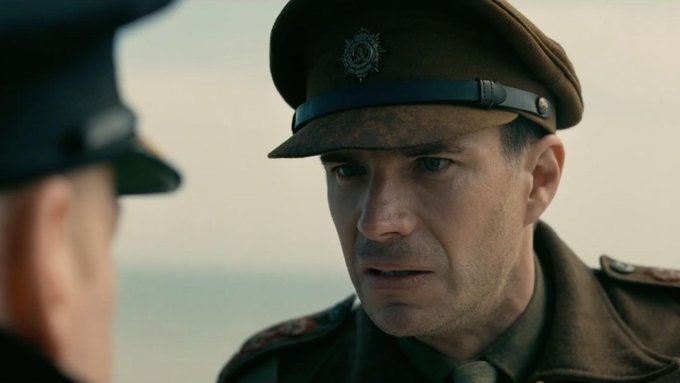 James D'arcy stars in Dunkirk