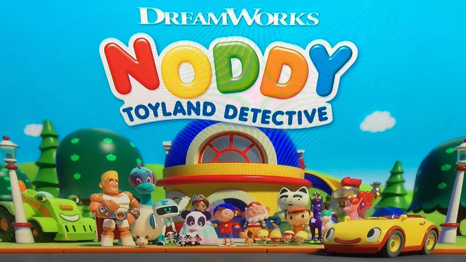 Jonathan Kydd voices new Noddy!