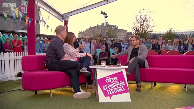 Kevin Bishop on The One Show