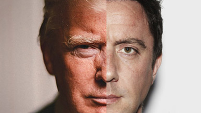 Peter Serafinowicz is back for more Trump!