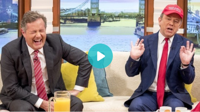 Jon Culshaw on Good Morning Britain!