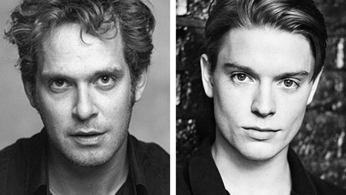 Tom Hollander and Freddie Fox in Travesties