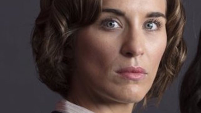 VICKY MCCLURE stars in the The Replacement
