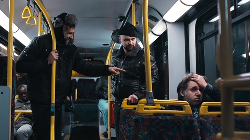 Athene Boards the Night Bus
