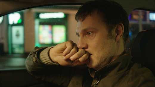 David Morrissey and Ian Hart in 'The Driver'