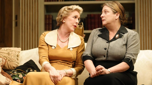 Caroline Quentin and Patricia Hodge in 'Relative Values'
